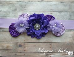 Hey, I found this really awesome Etsy listing at http://www.etsy.com/es/listing/128357169/purple-and-lavender-maternity-sash-photo