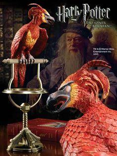 Harry Potter Statue Fawkes der Phoenix 35 cm  Harry Potter - Sammlerstücke - Hadesflamme - Merchandise - Onlineshop für alles was das (Fan) Herz begehrt!