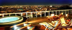 What a View!!! Penthouse Terrace, Rome Cavalieri, Waldorf Astoria Hotels & Resorts