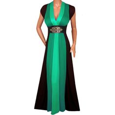 Funfash FUNFASH WOMENS PLUS SIZE SLIMMING BLACK COLOR BLOCK LONG MAXI... (3,980 INR) ❤ liked on Polyvore featuring dresses, colorblock dress, black maxi dress, womens plus dresses, color block dress and long black dress