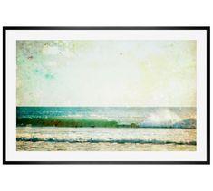 Waves Framed Print by Lupen Grainne | Pottery Barn