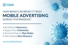 Many financial institutions have been affected by COVID-19, here is how banks can benefit from mobile advertising during this pandemic. Mobile Advertising, Mobile Marketing, Cross Selling, Marketing Articles, Wealth Management, Car Loans, Core Values, Financial Institutions, Credit Card Offers