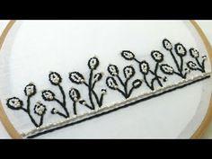 Saree Embroidery Design, Hand Embroidery, Border Design, The Creator, Beads, Creative, Beautiful, Beading, Bead