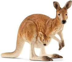 Superb Schleich Kangaroo Now at Smyths Toys UK. Shop for Schleich Wild Life At Great Prices. Free Home Delivery for orders over Toys Uk, New Toys, Wild Life, Figurine Schleich, Jurassic, Red Giant, Cat Activity, Australian Animals, Baby Bjorn