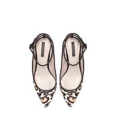 LEOPARD SLINGBACK - Shoes - Woman   ZARA United States