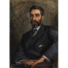 """Portrait of Roger Casement, by Sarah Henrietta Purser National Gallery of Ireland. Roger Casement, Frederick William, Irish Art, Ireland, Fine Art, Portrait, Gallery, Roof Rack, Men Portrait"