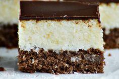 Prajitura Bounty - CAIETUL CU RETETE Sweet Desserts, Dessert Recipes, Vanilla Cake, Mousse, Caramel, Cooking, Foods, Fine Dining, Kitchens
