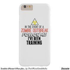 Zombie iPhone 6 Plus phonecase