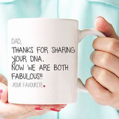 gifts for dad, dad gifts from daughter, fathers day gift from baby girl, new dad gift, funny mugs, father birthday gift, father mug MU134 by artRuss on Etsy