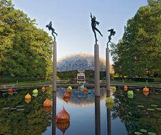 America's Most Beautiful Gardens: Missouri Botanical Garden-St Louis, MO