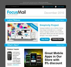 Design and build html newsletter without losing your mind email newsletter templates spiritdancerdesigns Choice Image