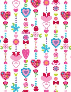 Pattern Designs by Claire Edwards, via Behance Heart Wallpaper, Paper Wallpaper, Flower Wallpaper, Iphone Wallpaper, Pattern Paper, Pattern Art, Print Patterns, Pattern Designs, Scrapbook Paper