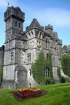 Ashford Castle, County Mayo, Ireland is a medieval castle that has been expanded over the centuries and turned into a five star luxury hotel. It was previously owned by the Guinness family. by Kim Roper Beautiful Castles, Beautiful Buildings, Beautiful Places, Wonderful Places, Wonderful Time, Chateau Medieval, Medieval Castle, Ashford Castle Ireland, Ireland Castles