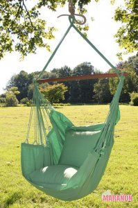 NewLine Hanging Chair XL green [XL] - €99.00 : High Quality Hammocks, Hanging Chairs, Stands and Accessories, Marañon World of Hammocks