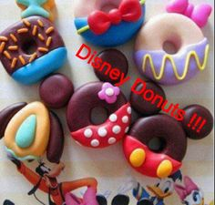 Make your own Disney donuts ! Super cute and fun for the whole family. Make your favorite character and show it off to everyone!
