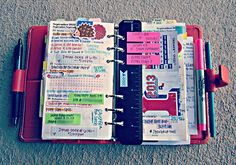 Good way to organize your schedules and school work