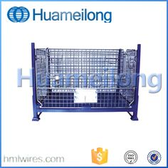 Box steel stillage cage