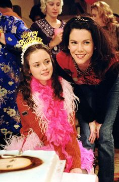 Gilmore Girls -Rory's sixteenth. If there's two things my daughter will grow up with, it's Harry Potter and Gilmore Girls.