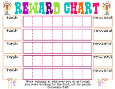 Printable Reward Charts for Kids. You can freely print these beautiful rewards chart to motivate and organize your kid's behavior. Good day parents and teachers! This time we will talk about rewards charts for kids. Reward Chart Template, Free Printable Chore Charts, Rewards Chart, Incentive Charts, Free Printables, Goal Charts, Calendar Printable, Printable Worksheets, Printable Coloring