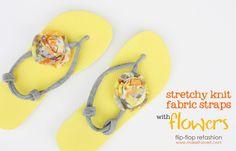 flip flop refashion