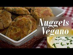 Nuggets de Grão-de-Bico e Legumes - Presunto Vegetariano