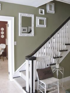 Relaxing Mirror Designs Ideas For hallway decorating hallway ideas ideas entrance ideas small ideas paint hallway ideas Bright Hallway, Dark Hallway, Entry Hallway, Entrance Hall, Cottage Hallway, Ikea Hallway, Upstairs Hallway, Entrance Ideas, House Entrance