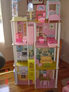 Barbie Town House - with elevator