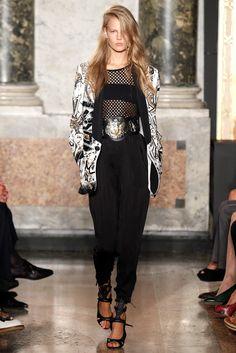 Emilio Pucci Spring 2014 Ready-to-Wear Fashion Show - Elisabeth Erm
