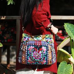 Aliexpress.com : Buy 2016 Vintage Chinese Hand Indian Embroidered Handbags National Embroidery Shoulder Brand Messenger Bag Sac Besace Ethnique Brode from Reliable handbags messenger bags suppliers on ETAILL