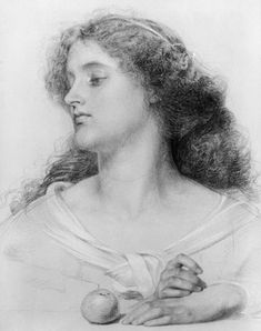 Study for Vivien - Frederick Sandys - Frederick Sandys - Wikipedia, the free encyclopedia