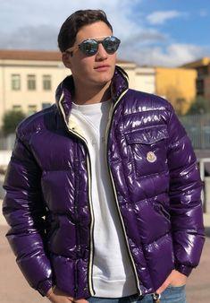 Cool Jackets, Jackets For Women, Winter Jackets, Modern Mens Fashion, Men's Fashion, Mens Down Jacket, Pvc Raincoat, Mens Trends, Cyberpunk Fashion