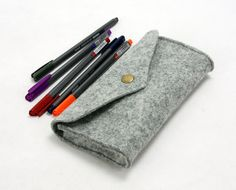 Wool Felt Stitch Eye Glasses bag Sunglasses Case Glasses Sleeve Glasses Pouch Glass Purse Snap Button Closure Handmade AW1170