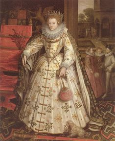 Elizabeth I, The Welbeck or Wanstead Portrait by Marcus Gheeraerts the Elder, c.1585. (Private Collection)