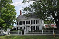 10. Harriet Beecher Stowe House, Brunswick