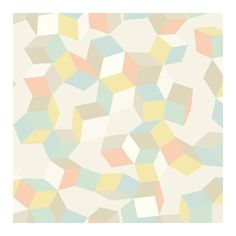 Cole & Son Wallpaper Puzzle Wallpaper (€125) ❤ liked on Polyvore featuring home, home decor, wallpaper, cole son wallpaper and pattern wallpaper