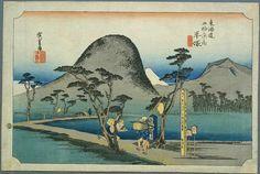 Tokaido07 Hiratsuka - 東海道五十三次 (浮世絵) - Wikipedia