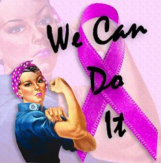 Breast Cancer Awareness from Rosie the Riveter, We Can Do It by Beverly & Pack, via Flickr