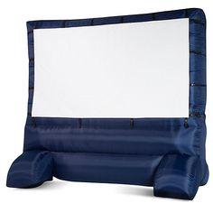 Deluxe Outdoor Inflatable Movie Screen, 12' Widescreen