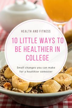 Like any college student living away from home for the first time, it is tempting to spend your money on chocolate and chips or to stay in the dorms watching movies instead of exercising. So the weight begins pile on. Here are little ways that you can make improvements to your life at university so that you can still stay fit and healthy. As much fun as fitness is, it can be difficult sometimes. Luckily this is an easy way to stop the weight from adding up