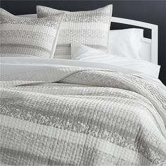Oleana Quilts and Pillow Shams | Crate and Barrel