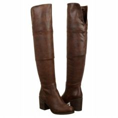 Women's Steve Madden Odyssey Over the Knee Boot Brown Shoes.com