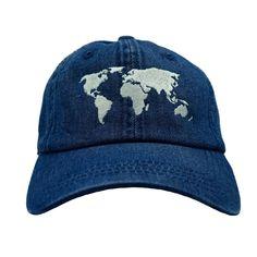 Traveler Dad Hat - Blue Denim – Ace Hat Collection 52a233910317