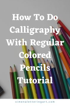 How To Do Calligraphy, Pencil Calligraphy, Calligraphy For Beginners, Calligraphy Fonts, Modern Calligraphy Tutorial, Hand Lettering For Beginners, Hand Lettering Practice, Hand Lettering Tutorial, Hand Lettering Alphabet