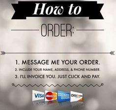 Fast easy way to order.