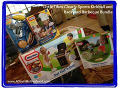 Little Tikes Clearly Sports Kickball and Backyard Barbeque Bundle @ A Day In Motherhood