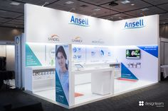 ANSELL @ ACORN uses their presence to demonstrate their latest glove technology to operating theatre nurses and surgeons.