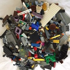 LEGO 1 KG ASSORTMENT OF BRICKS PARTS AND PIECES (LEGO #3)  | eBay