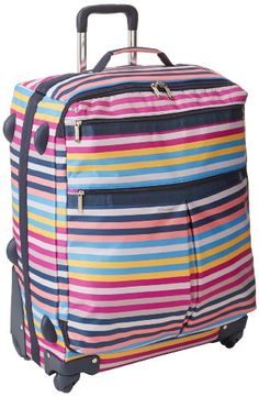 LeSportsac 24 Inch 4 Wheel Luggage Carry On  http://www.alltravelbag.com/lesportsac-24-inch-4-wheel-luggage-carry-on-3/