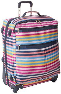 LeSportsac 24 Inch Wheel Luggage, Snap Happy TR, One Size LeSportsac