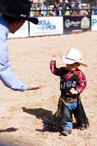 It's a dream of becoming something, becoming someone. It's about showing your strength and passion. It's about accepting a challenge. It's about RODEO. <3